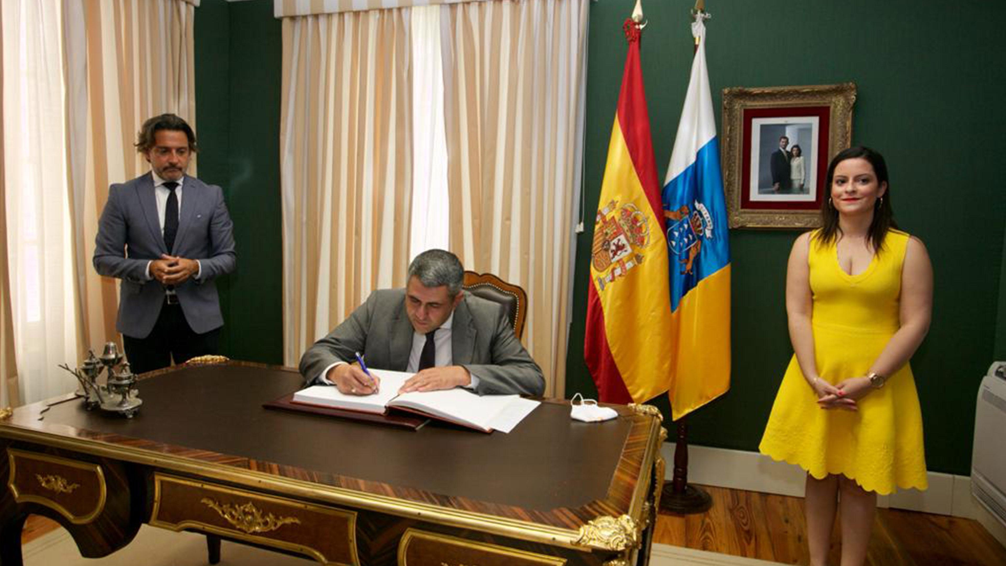 Canary island visit Secretary General UNWTO