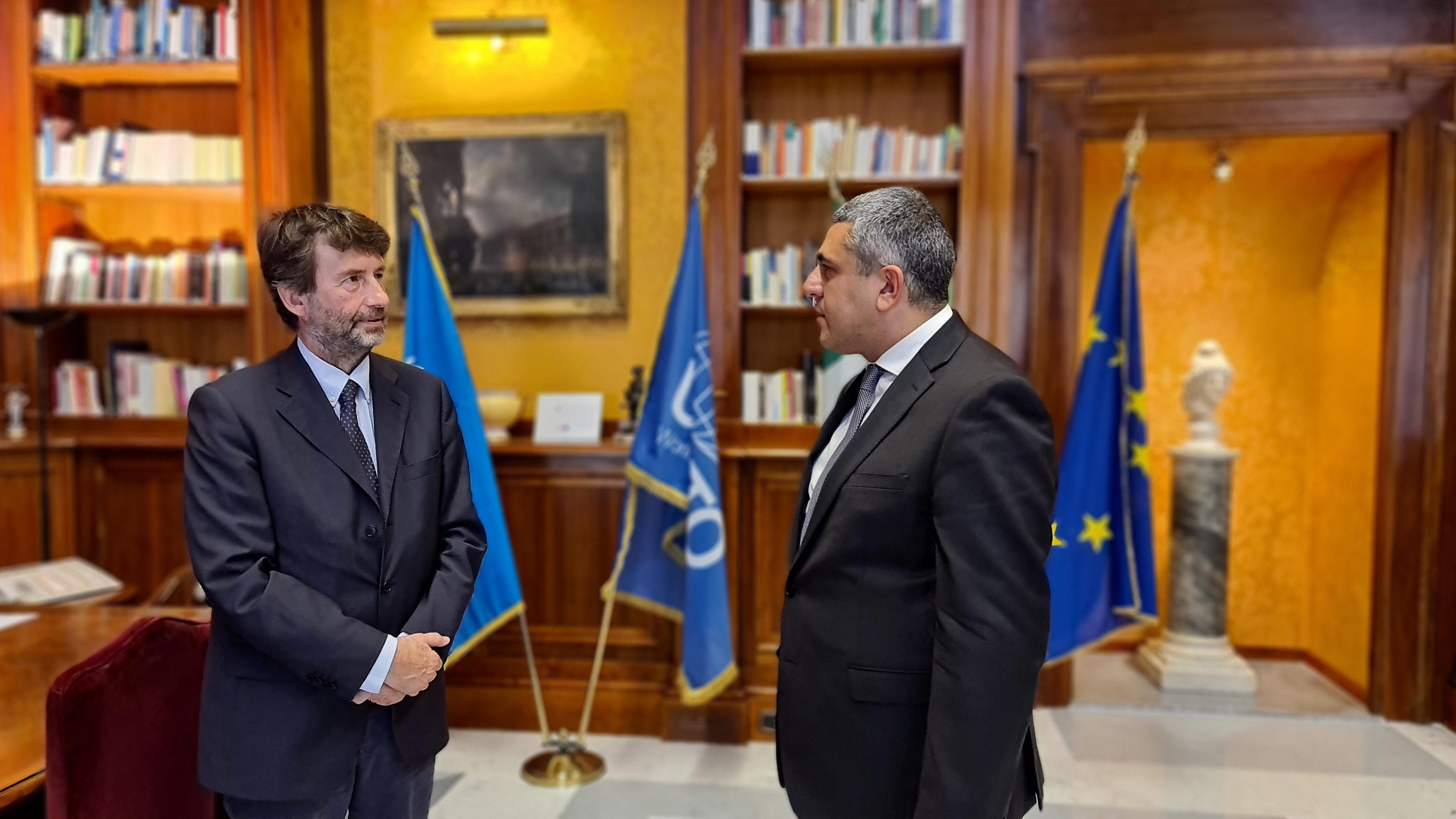 Visite officielle de l'OMT en Italie et réouverture des frontières dans l'espace Schengen
