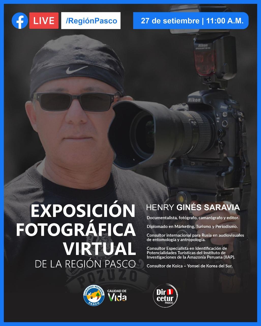 Exposición Fotográfica Virtual de la Región Pasco