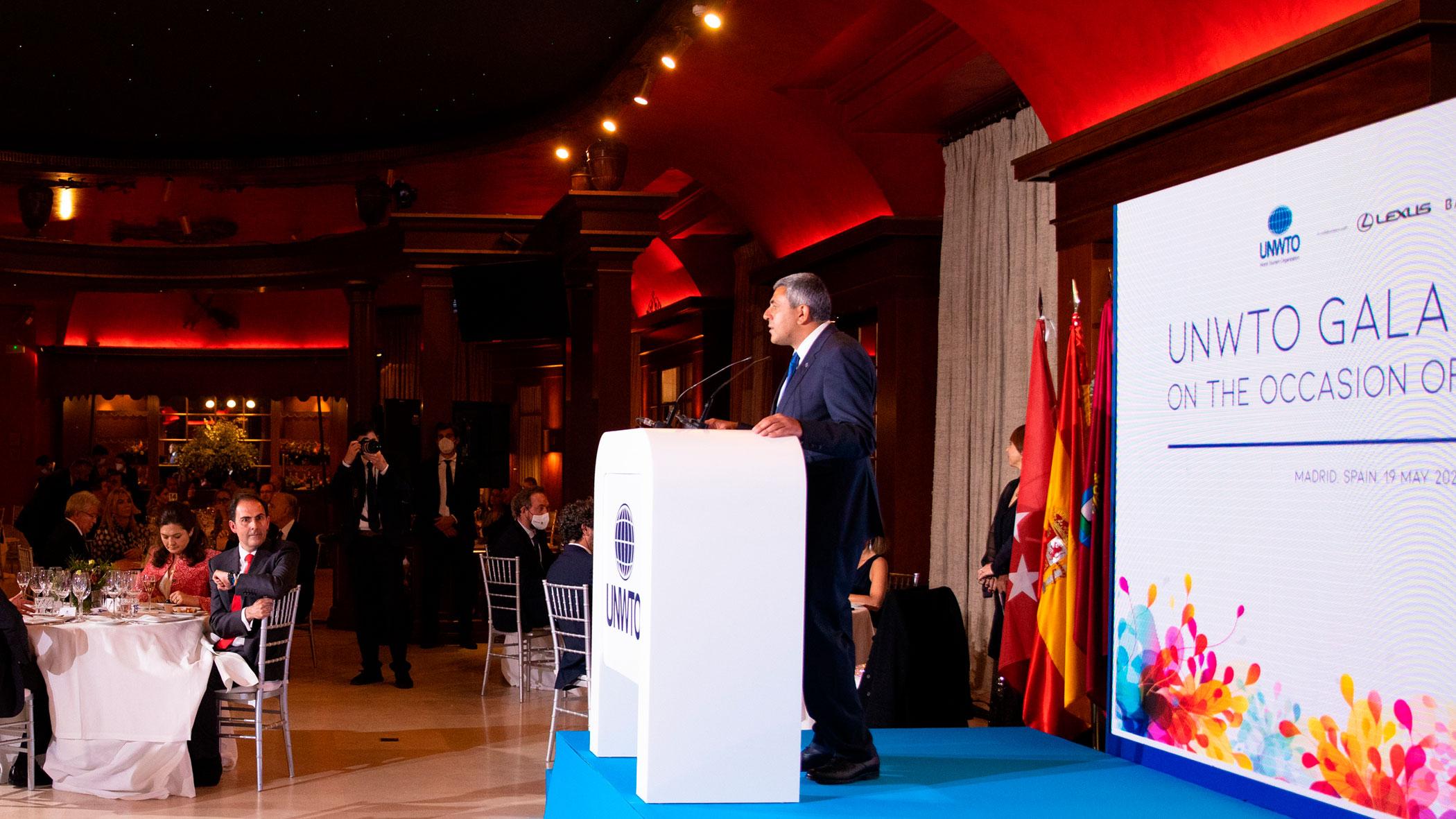 L'OMT reçoit les dirigeants du tourisme à Madrid