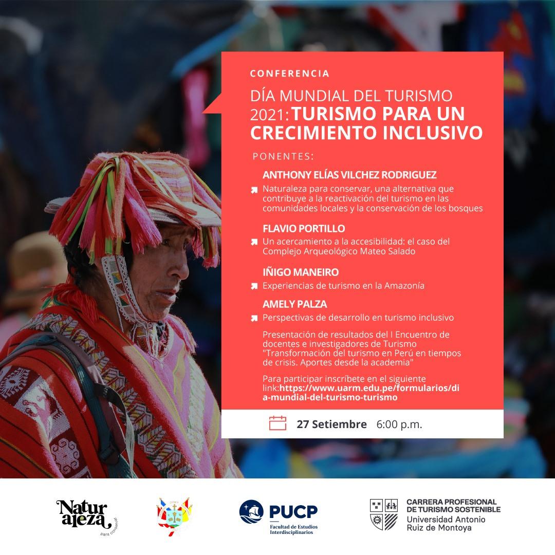 Día Mundial del Turismo: Turismo para un crecimiento inclusivo