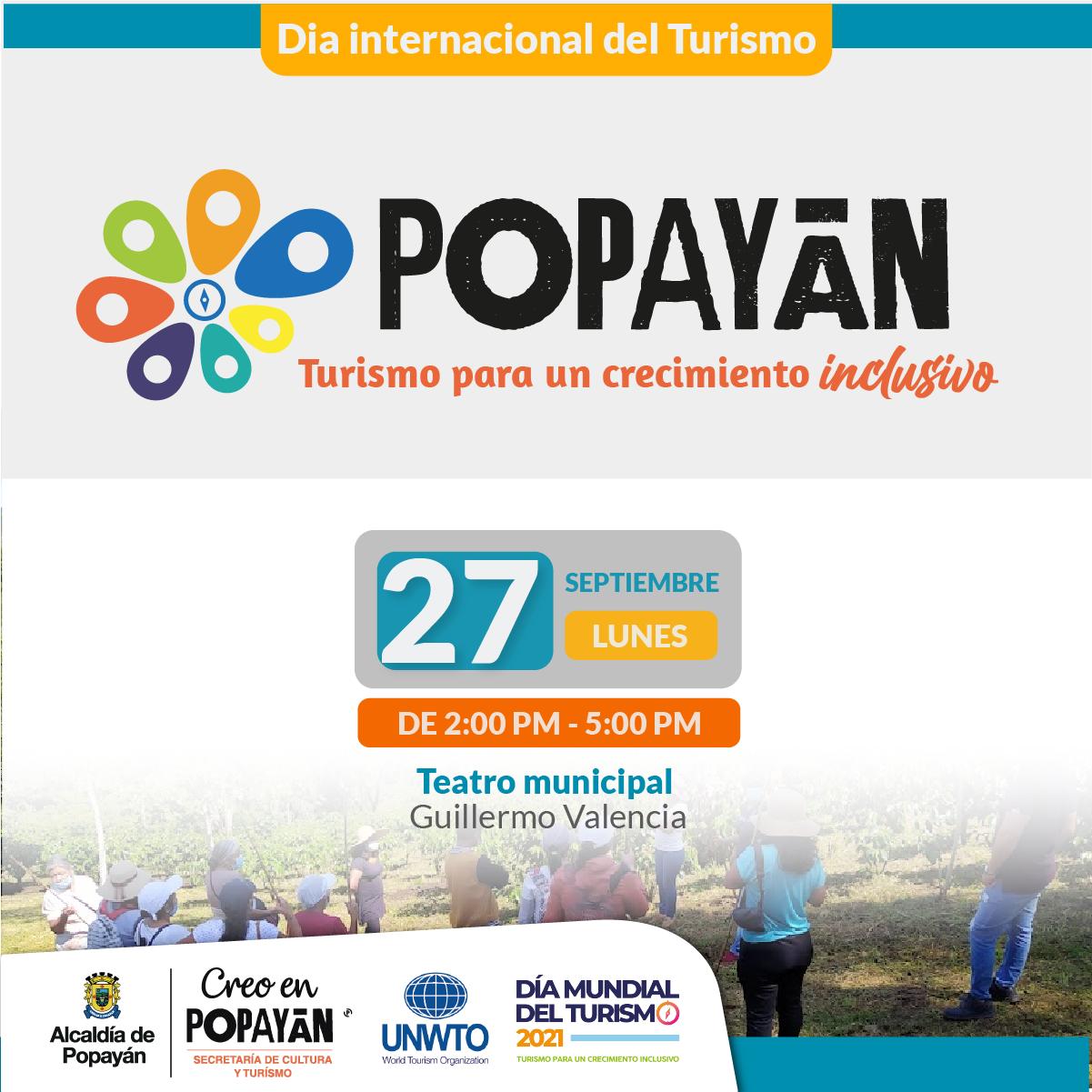 POPAYÁN. Turismo para un crecimiento inclusivo