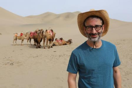 'David Baddiel on the Silk Road' to air on Sunday 21 February at 9pm on the Discovery Channel UK