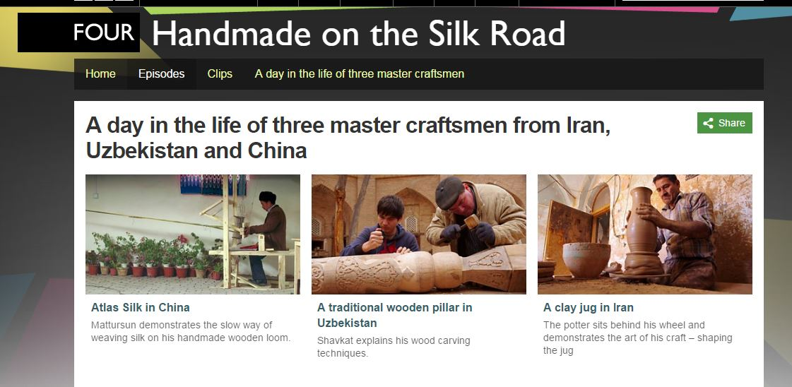 BBC documentary on the Silk Road hosted by renowned historian Dr. Sam Willis