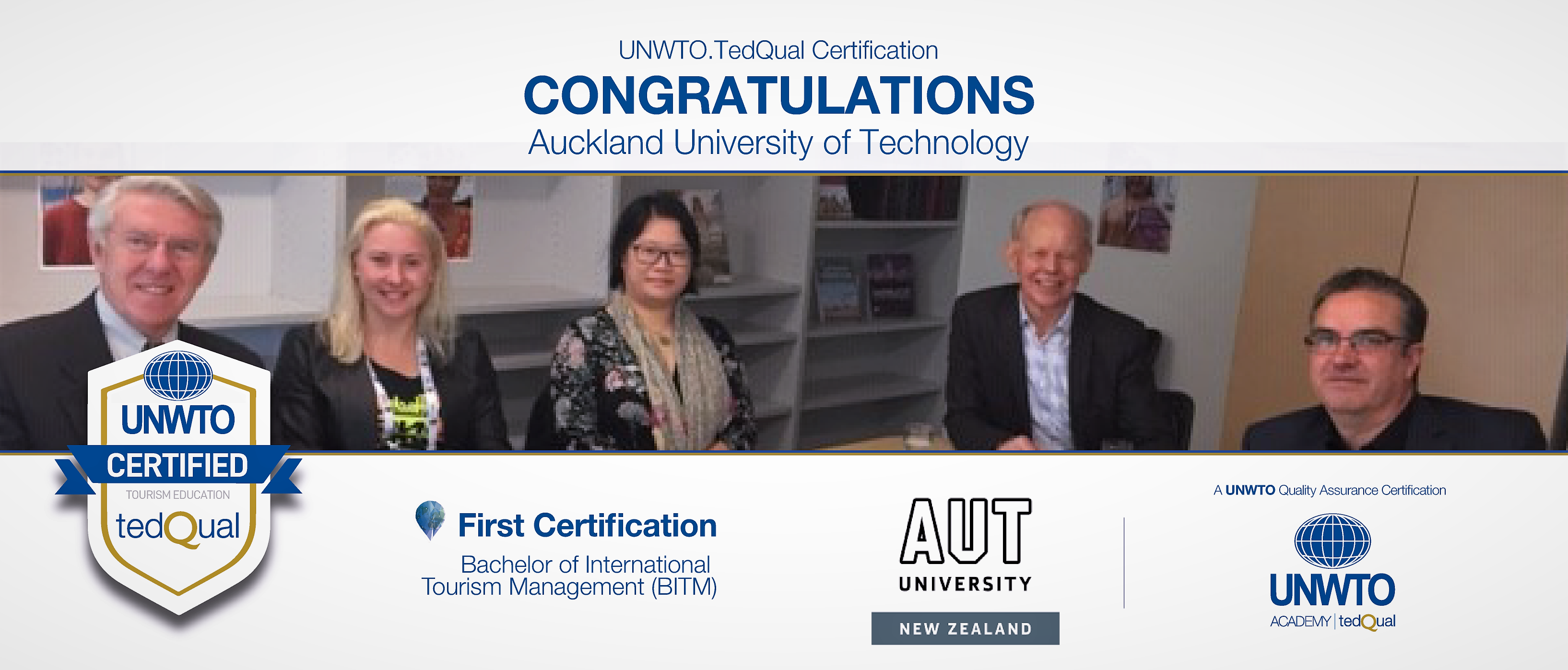 UNWTO.TedQual Certification - Auckland University of Technology