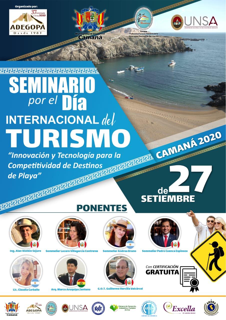 Seminario por el Dia Internacional del Turismo
