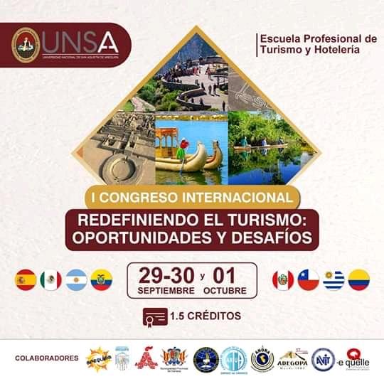 Primer Congreso Internacional: Redefiniendo el Turismo oportunidades y desafíos