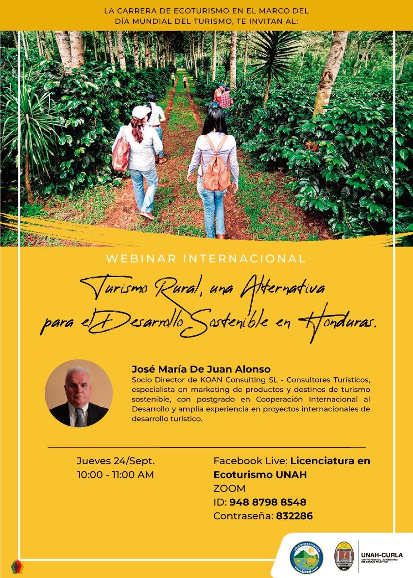 Turismo Rural, una Alternativa para el Desarrollo Sostenible en Honduras.