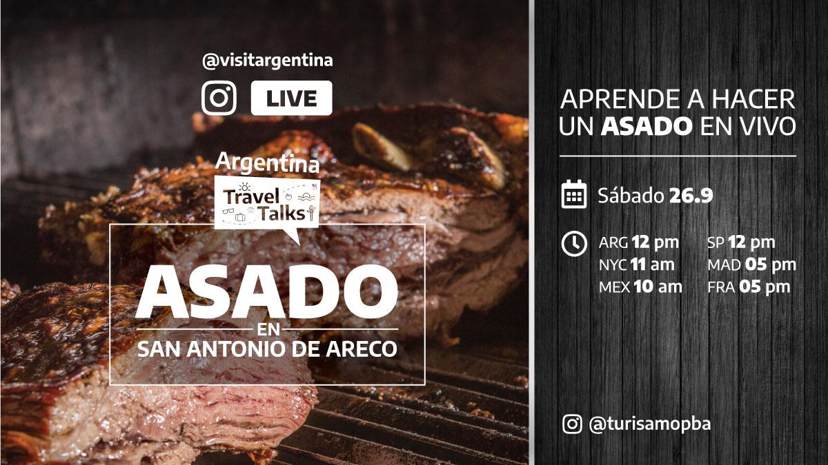 ARGENTINA TRAVEL TALKS: ASADO, CAMPO Y VIDA GAUCHESCA
