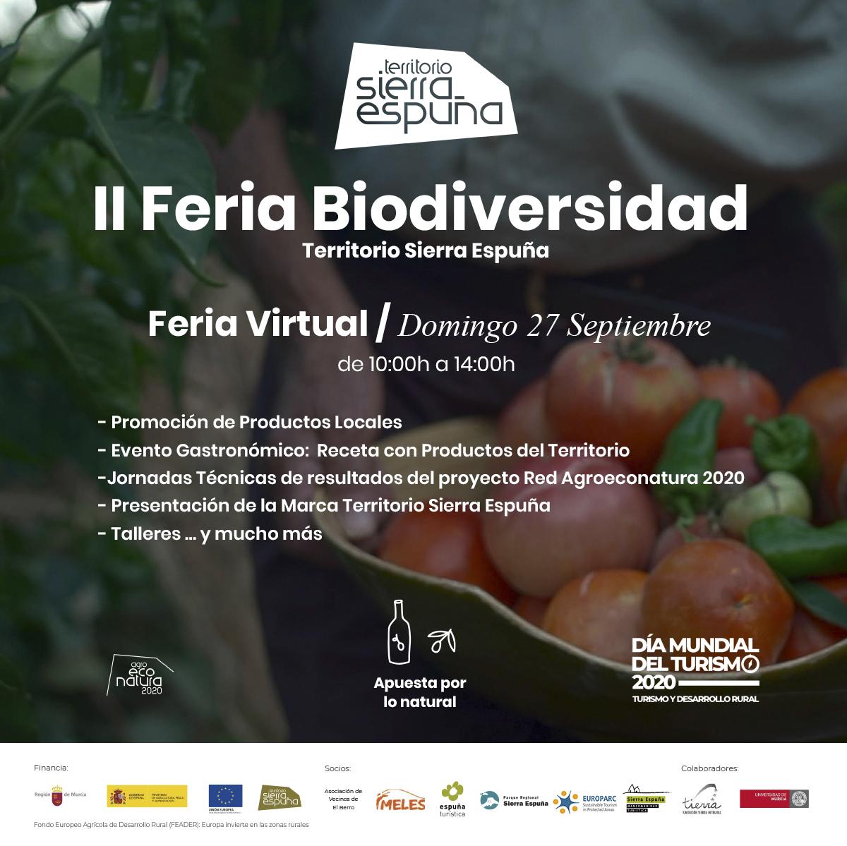Feria de la Biodiversidad del Territorio Sierra Espuña