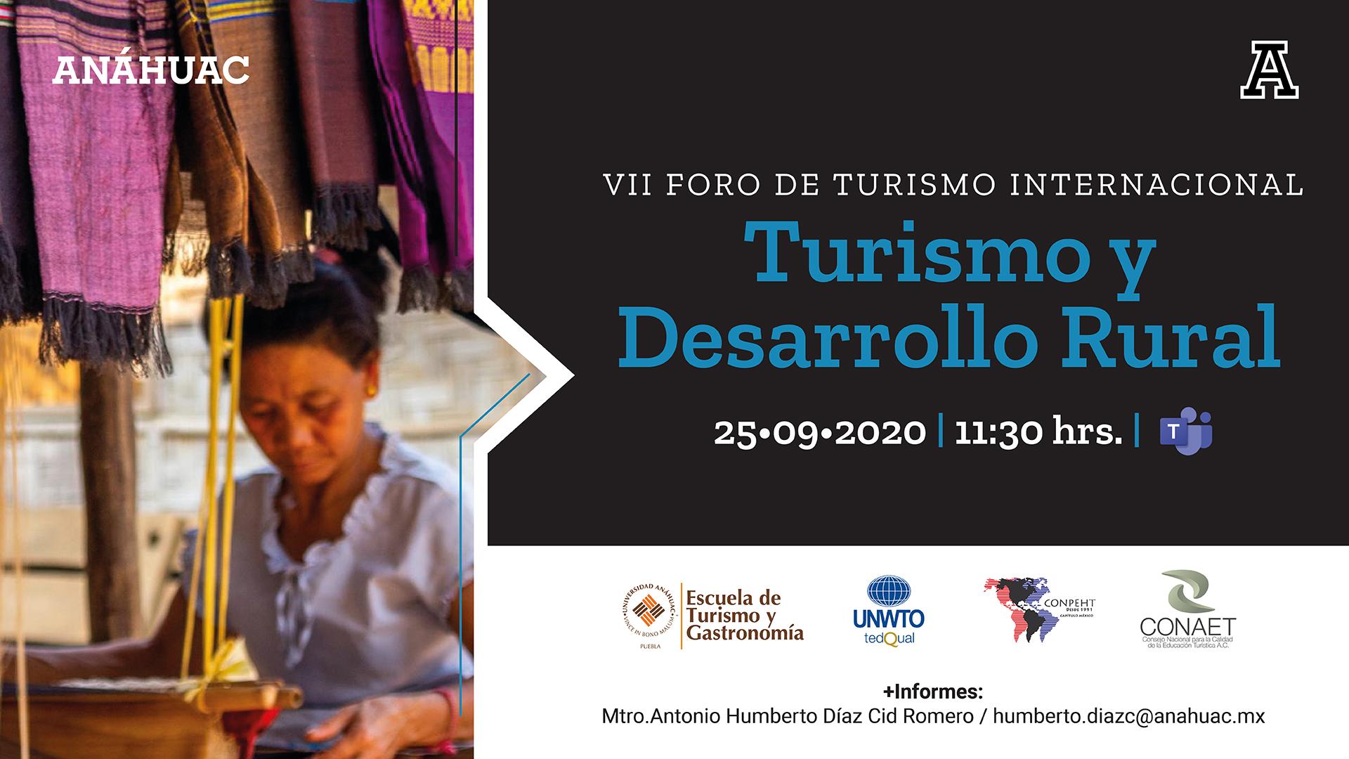 VII Foro Internacional de Turismo Universidad Anáhuac Puebla