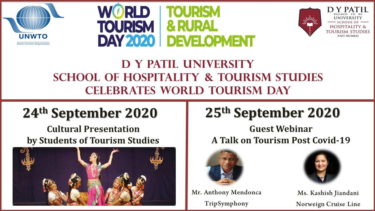 D Y Patil University - School of Hospitality & Tourism Studies - Navi Mumbai - India