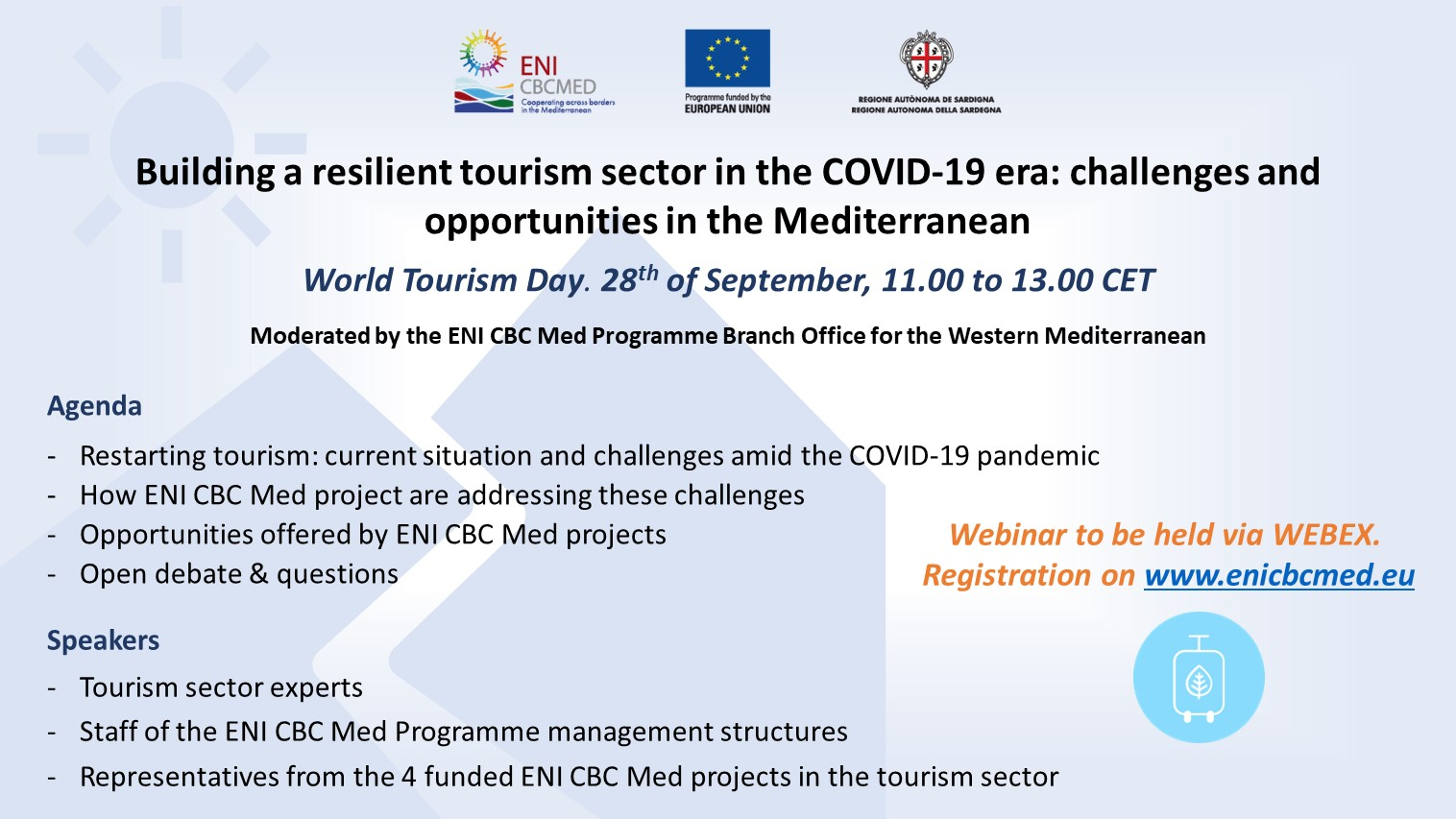 Building a resilient tourism sector in the COVID-19 era: challenges and opportunities in the Mediterranean