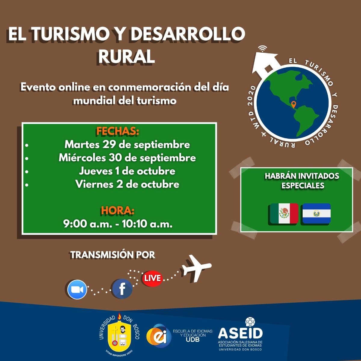 El Turismo y Desarrollo Rural