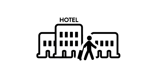 Accommodation in hotels and similar establihsments