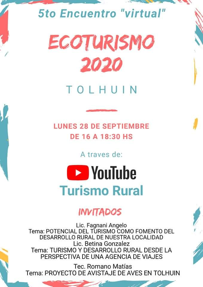"5to Encuentro de Ecoturismo 2020 ""Virtual"""