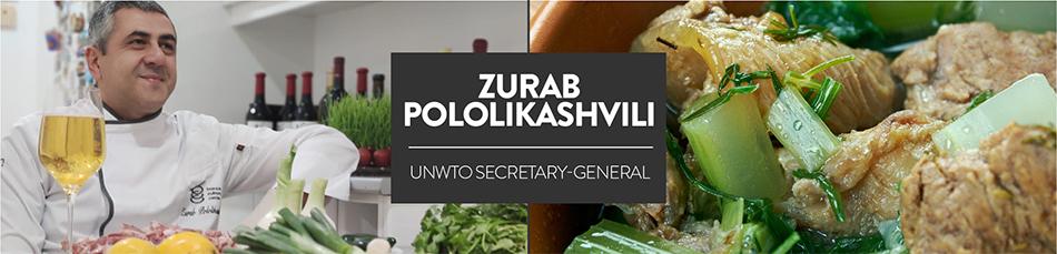 Gastronomy Zurab Pololikashvili