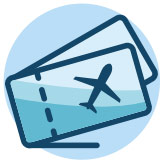 Loss in international tourism receipts