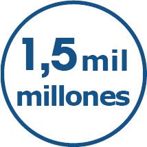 1.5 billion