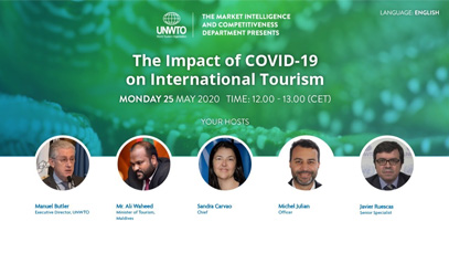 The impact of COVID-19 on international tourism