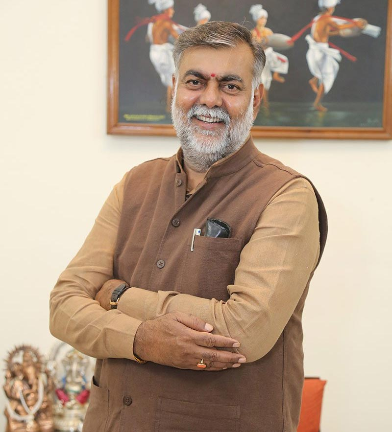 Prahlad Singh Patel, Minister of State (IC) for Tourism & Culture, Government of India