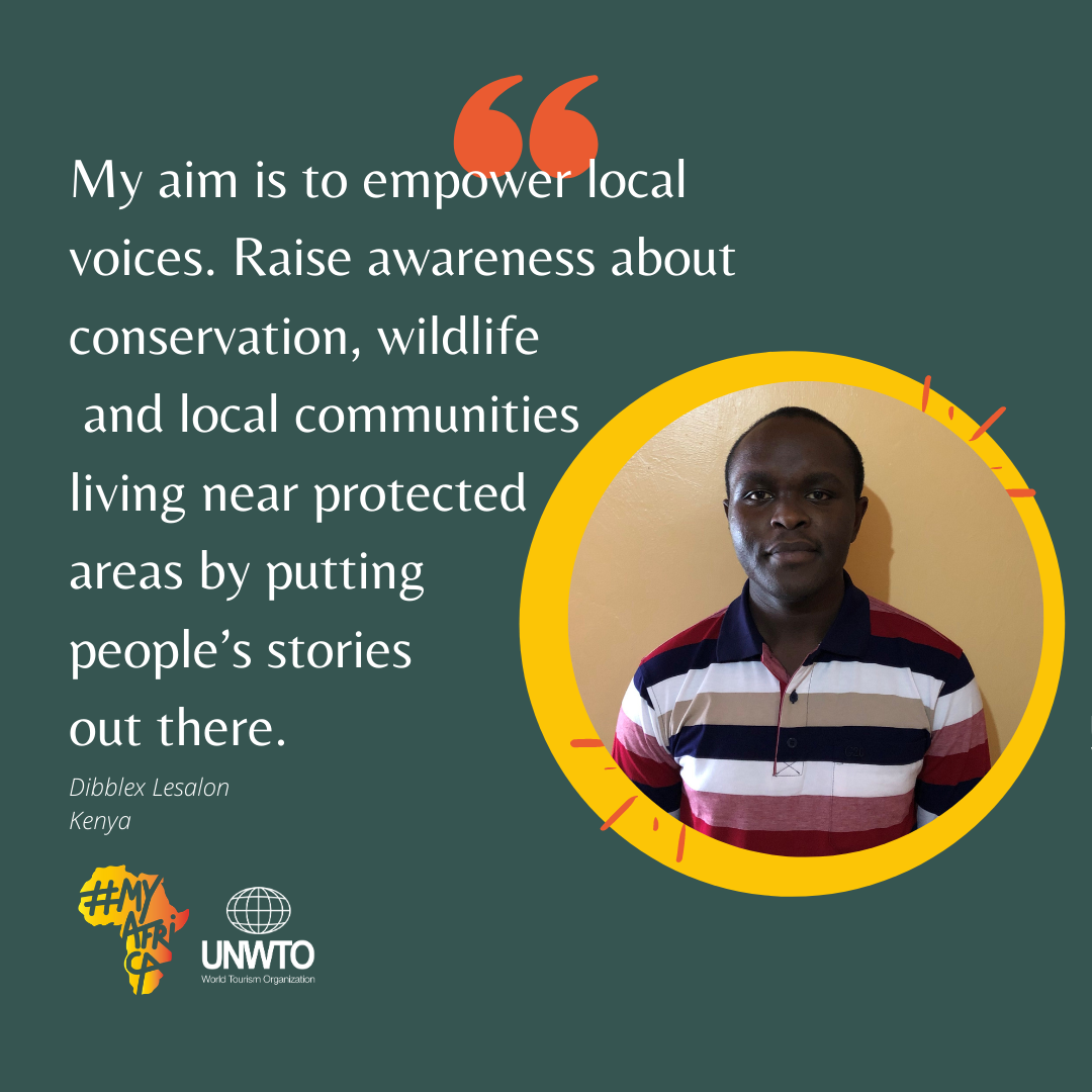 My aim is to empower local voices. Raise awareness about conservation, wildlife and local communities living near protected areas by putting people's stories out there.