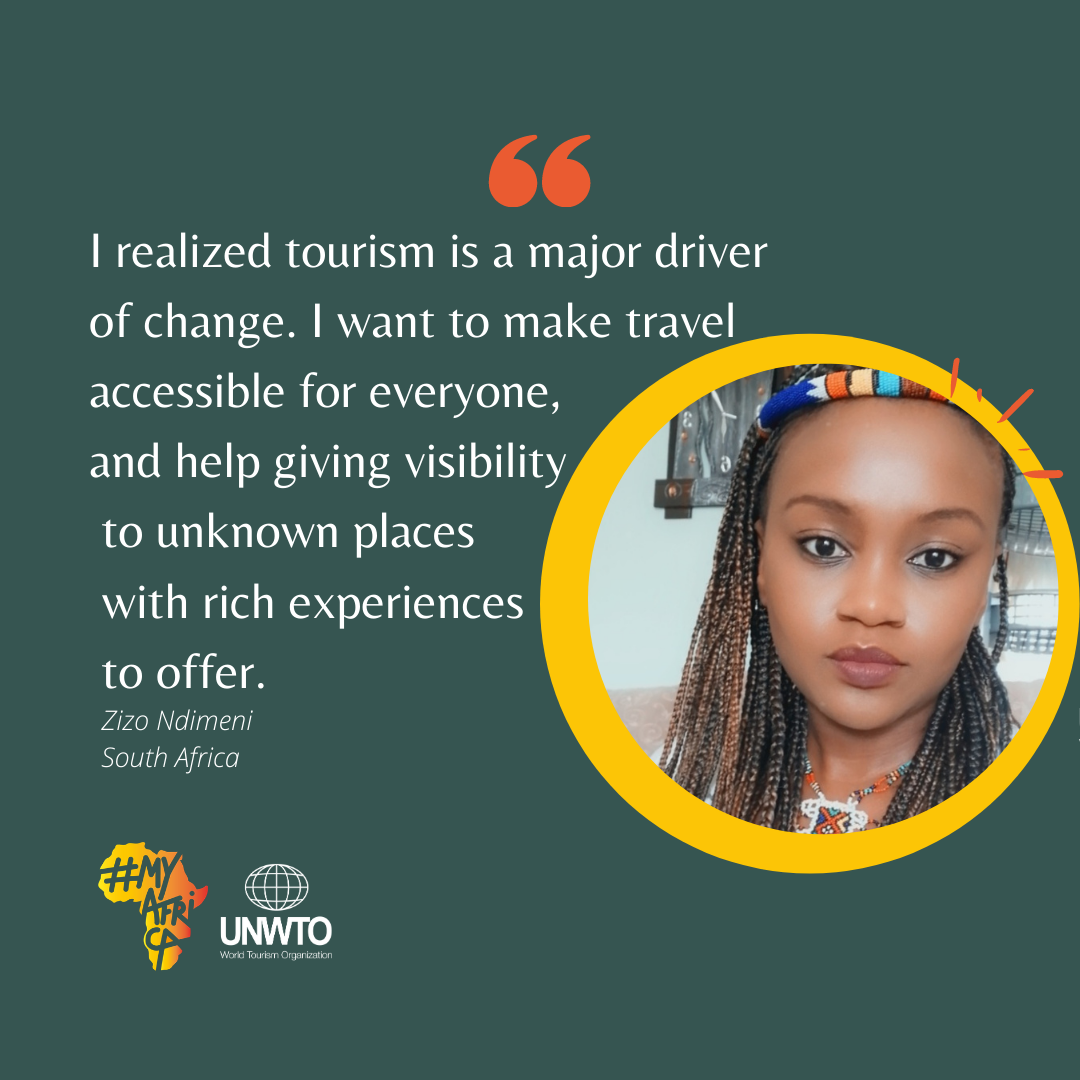 I realized tourism is a major driver of chnage. I want to make accessible for everyone, and help giving visibility to unknown places with rich experiences to offer.