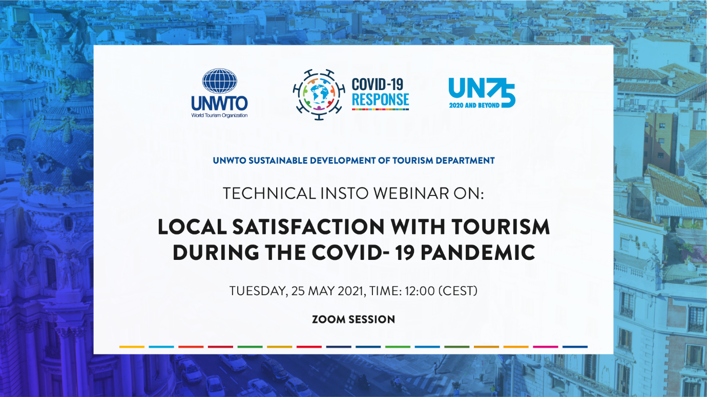 Technical INSTO Webinar on: Local Satisfaction with Tourism During the COVID-19 Pandemic
