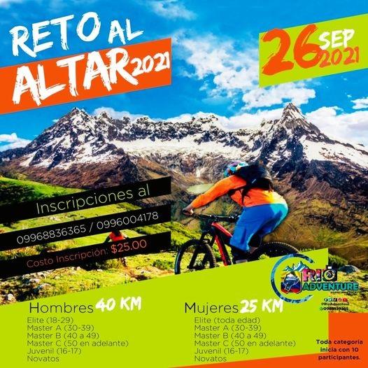 Reto al Altar - Riobamba - Ecuador