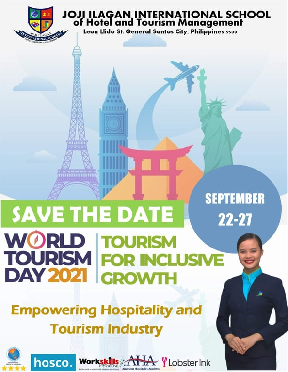 JIBIS Empowering Hospitality and Tourism Industry: World Tourism Day 2021