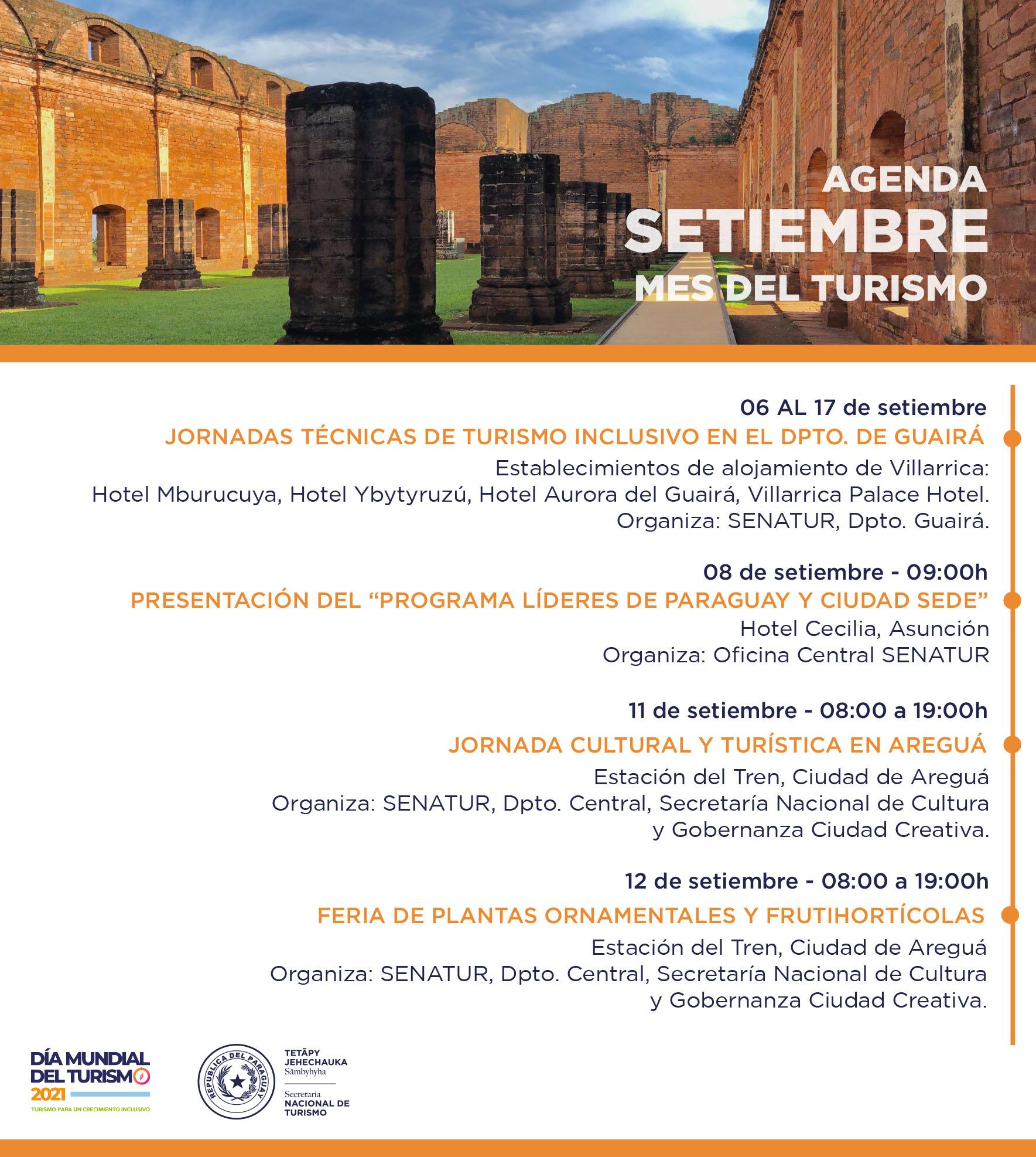 """""""""""Actividades Semanales de la Secretaría Nacional de Turismos - SENATUR, Paraguay"""