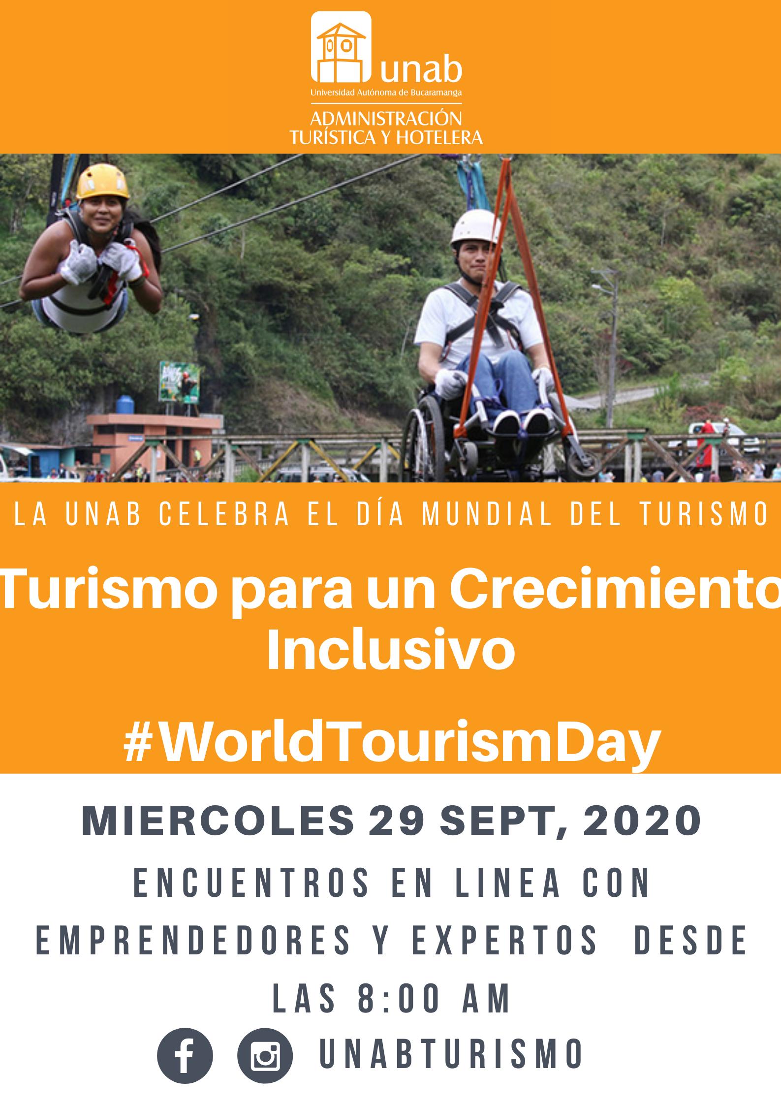 Celebración Dia mundial del Turismo: Universidad Autónoma de Bucaramanga