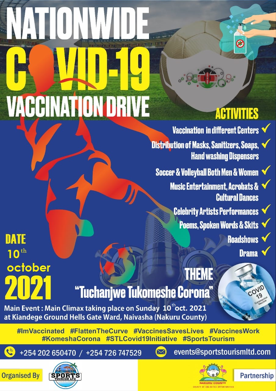 WTD2021 COVID 19 SENSITIZATION AND VACCINATION DRIVE