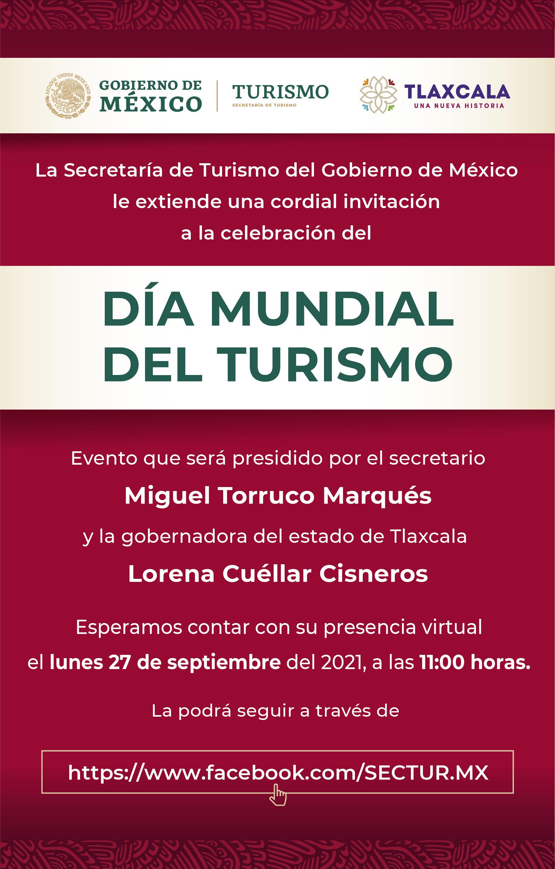 Celebración Virtual del Día Mundial del Turismo 2021 (Secretaría de Turismo de México)
