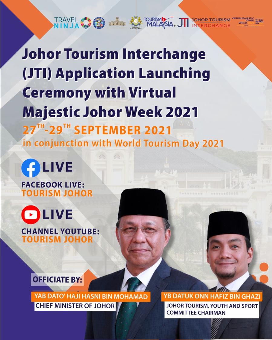 Virtual Majestic Johor Tourism Week 2021