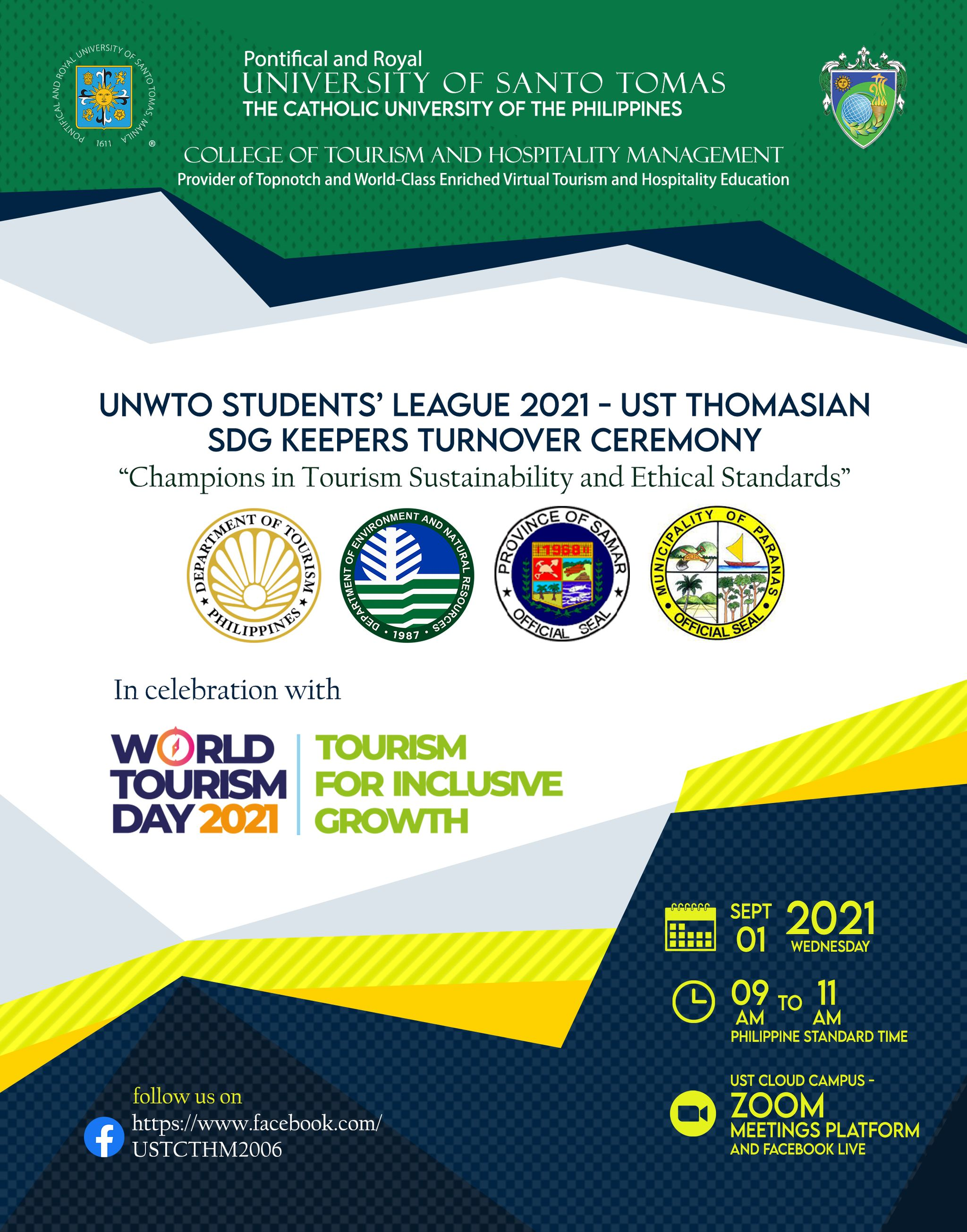 UNWTO. (2021). UNWTO Students' League. United Nations World Tourism Organization
