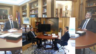 La Organización Mundial del Turismo transmite al Rey de España la importancia del turismo para la recuperación frente al COVID-19