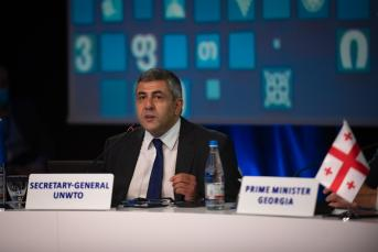 Le Secrétaire général Pololikashvili élu à la tête de l'OMT pour quatre années supplémentaires