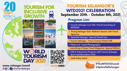 Tourism Selangor's WTD 2021 Celebration