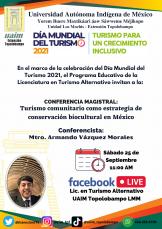 CONFERENCIA MAGISTRAL: Turismo comunitario como estrategia de conservación biocultural en México