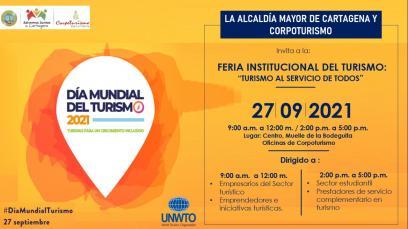 """Feria Institucional """"Turismo al servicio de todos"""""""