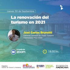 La renovación del turismo en 2021