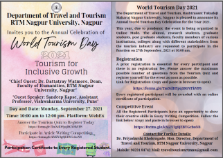 World Tourism Day 2021 Event