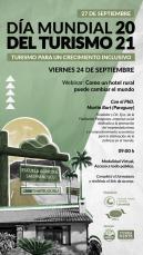 """Webinar: """"Como un hotel rural puede cambiar el mundo"""" - Disertante: PhD. Martín Burt"""