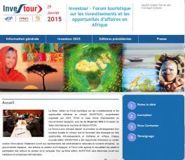 VI Forum touristique sur les investissements et les opportunités d'affaires en Afrique (INVESTOUR)