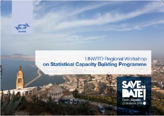 Programme de renforcement des capacités en matière de statistiques du tourisme , Oran, Algérie, 24-26 octobre 2016