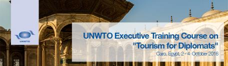 Egypt is to host a UNWTO Executive Training Course on Tourism for Diplomats