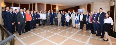 """Inaugurated the UNWTO Executive Training Course in Egypt on """"Crisis Management in Tourism"""""""