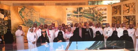 The UNWTO Executive Training Course in the Kingdom of Saudi Arabia on Tourism Strategy was inaugurated on 13th November