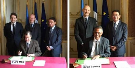 Signing ceremony: Paris, France, November 2015